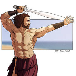 OC: Alceo plays Conan Tha Barbarian - Tribute by StefanoMarinetti