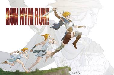 OC: Run Nym, run!