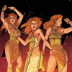 OC: Melite - fire dance