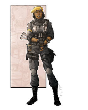 Commission: Soldier