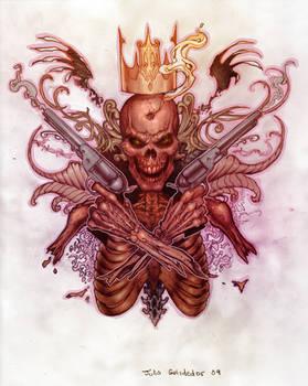 skull n guns n stuff