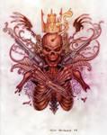 skull n guns n stuff by AnibalO