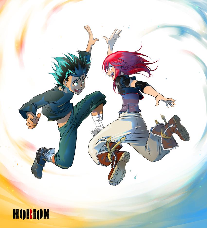 HORION : Koza and Valyu by Atelier-Enaibi