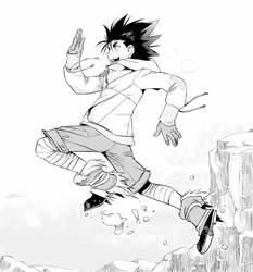 Running Manga !
