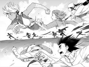 Running Manga 2 !!