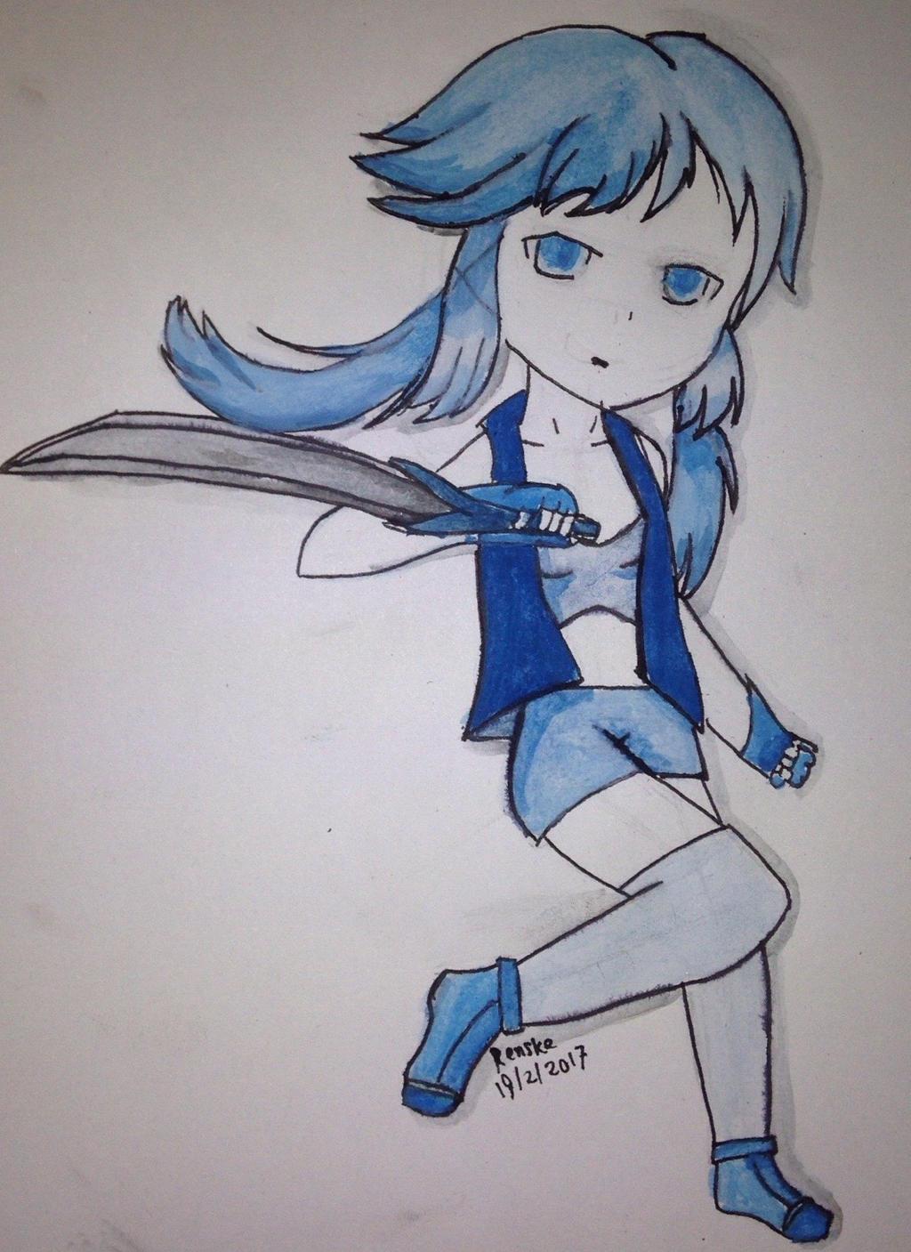 Blue by VliegendeFiets