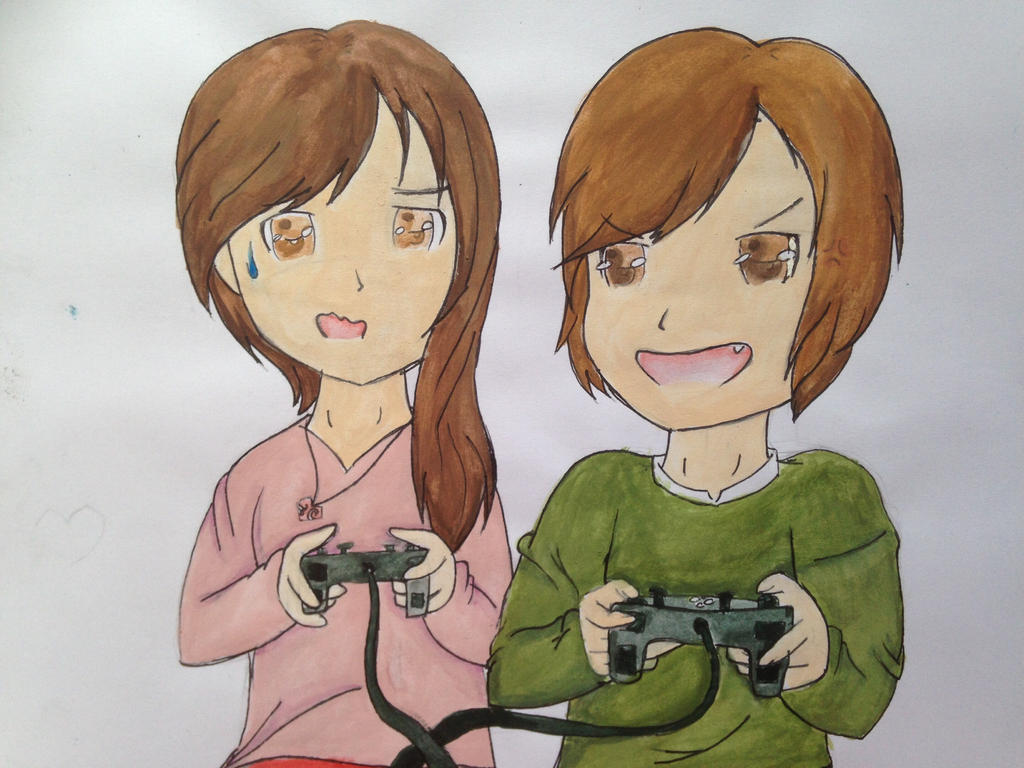 Gaming by VliegendeFiets