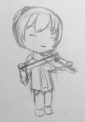 Violin by VliegendeFiets