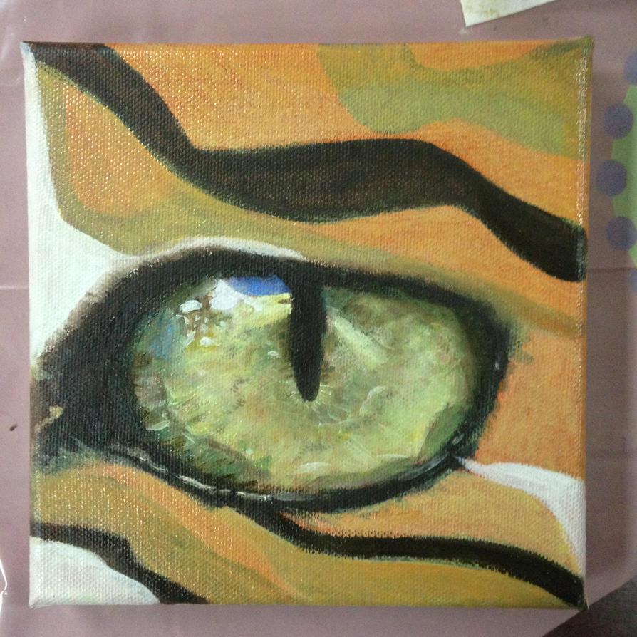 Tiger eye by VliegendeFiets