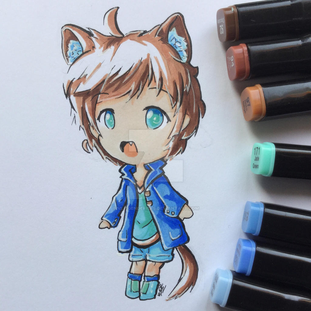 Custom Chibi  by VliegendeFiets