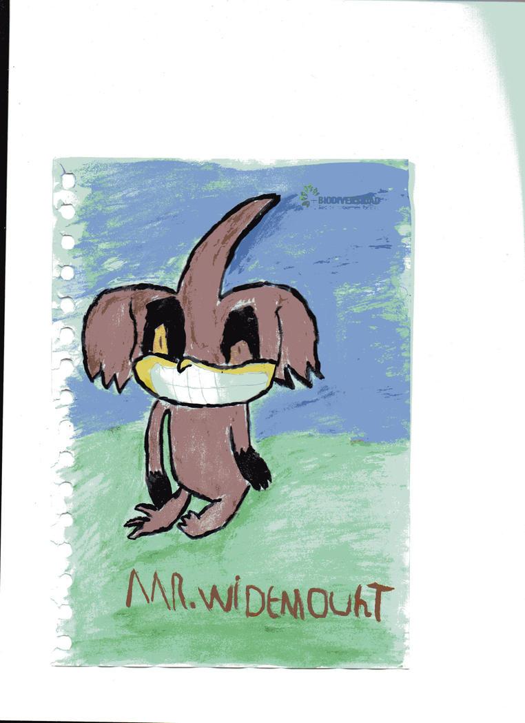 Mr Widemouht by sonicaestela