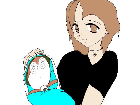 Me And Baby Tororo by sonicaestela