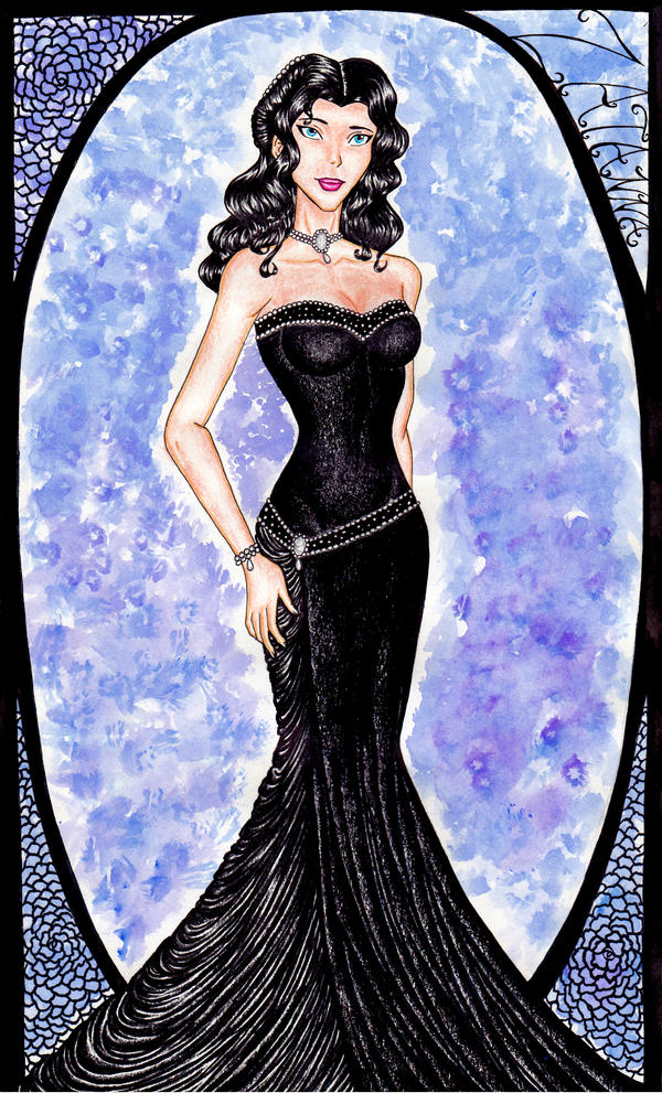 Young Justice Evening Gowns: Zatanna by GossamerWing on ...