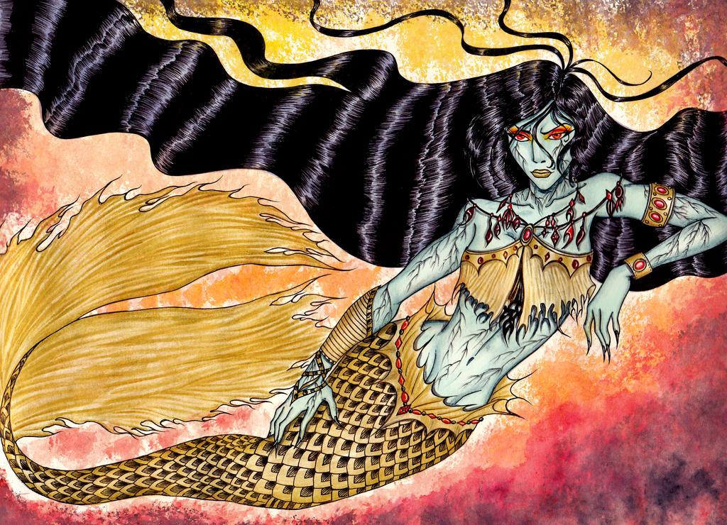 Mermaid Sonera by GossamerWing on DeviantArt