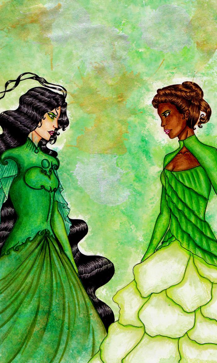 Green Queens by GossamerWing