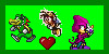 Team chaotix stamp by scourgexfionafan