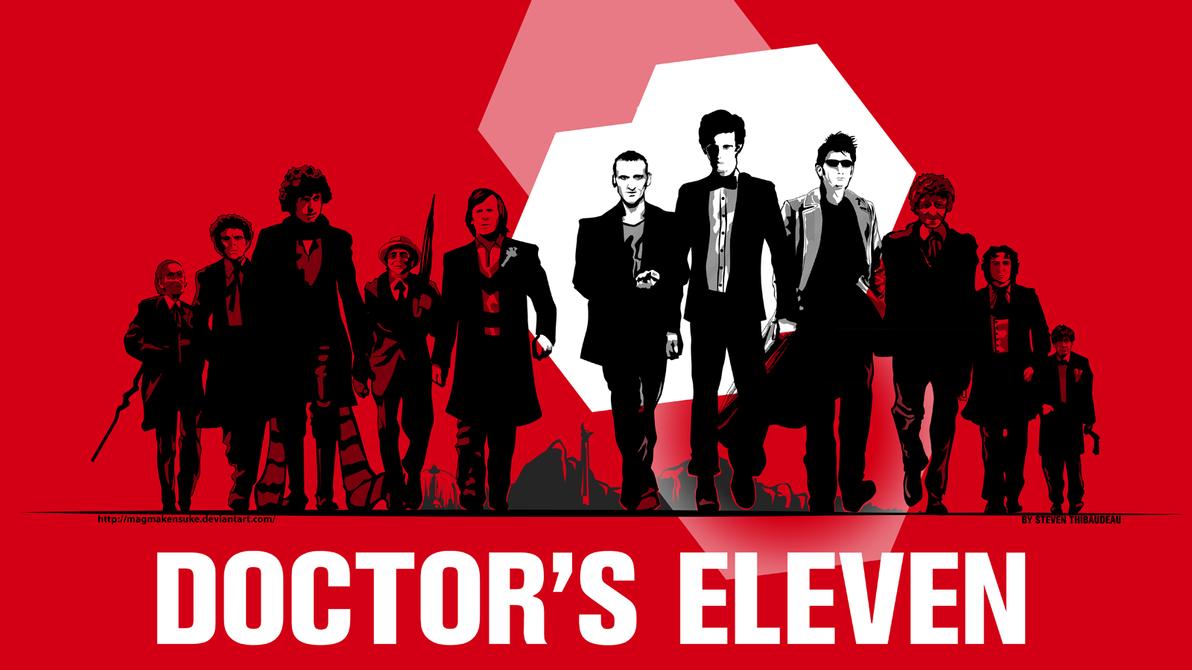Doctor's Eleven Desktop by Magmakensuke