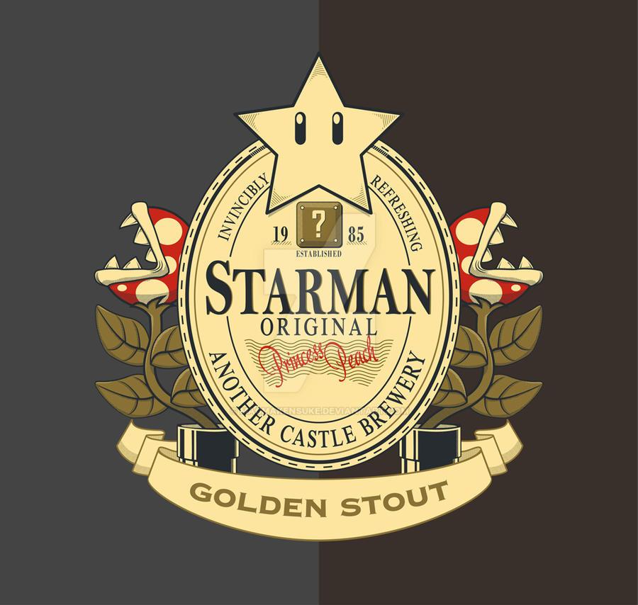 Starman Original Golden Stout by Magmakensuke
