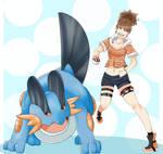 Swampert Trainer by shycatgirl
