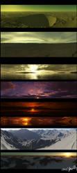 Terragen Panoramas by LordDoomhammer