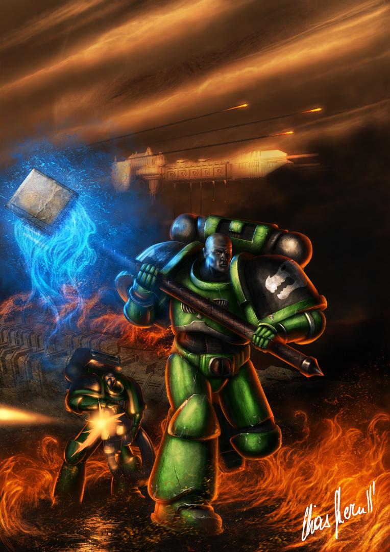 Ground Assault by LordDoomhammer