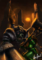 Heroic Fight by LordDoomhammer