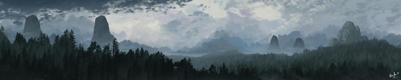 Dark Clouds 01 by LordDoomhammer
