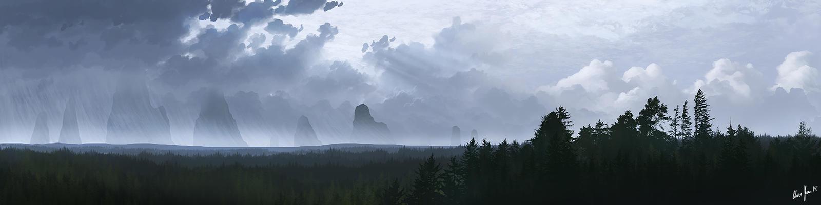 Dark Clouds 03 by LordDoomhammer
