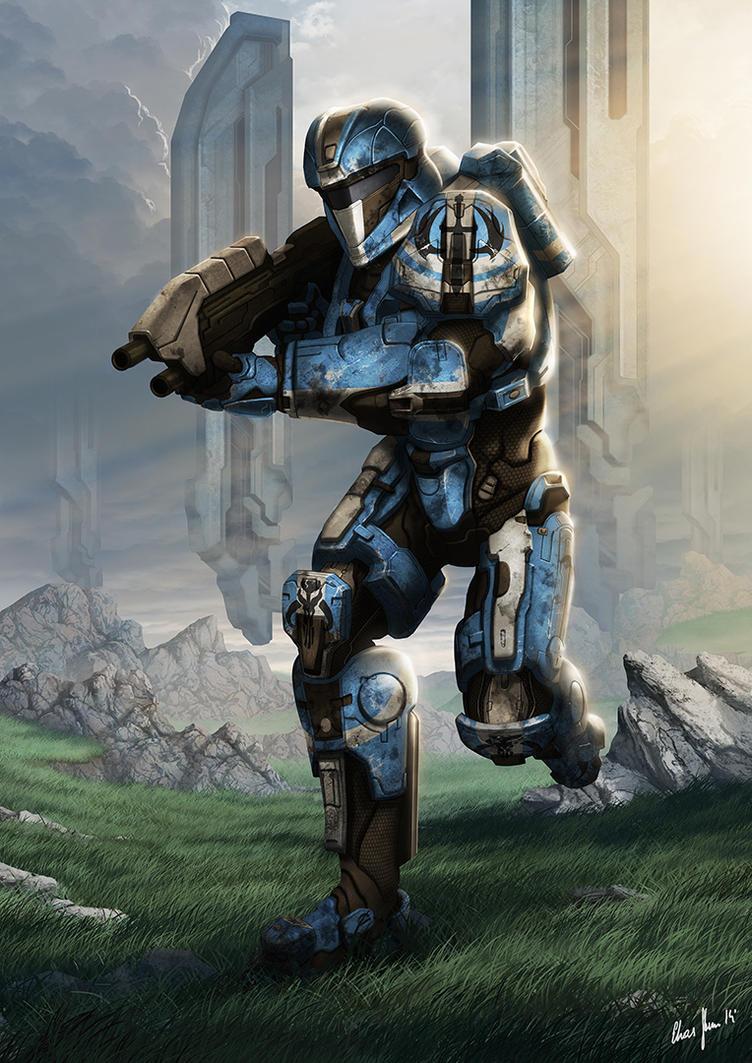Relentless Warrior by LordDoomhammer