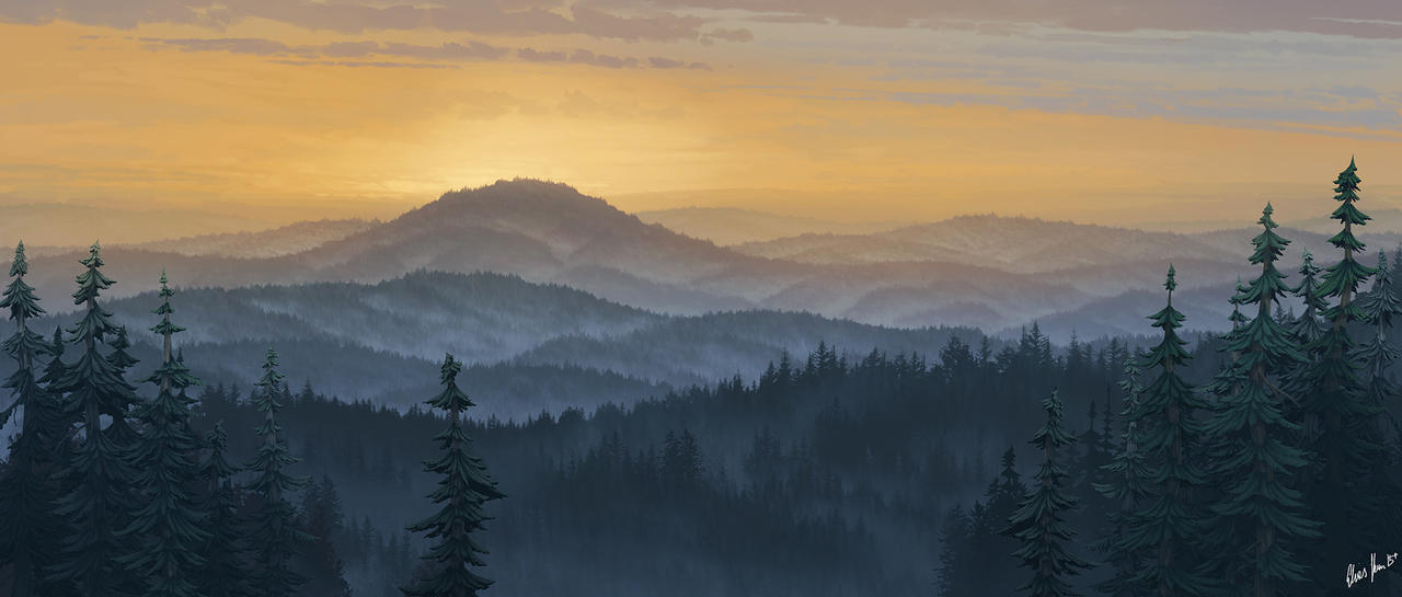 Morning Mist by LordDoomhammer