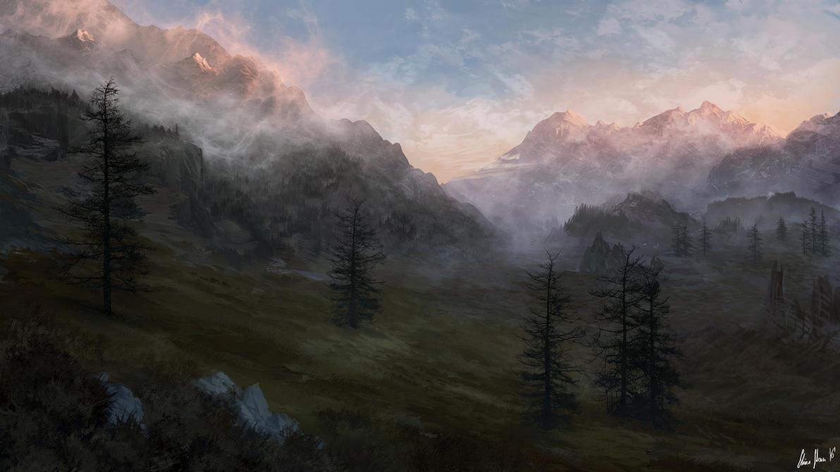Eerie Sunrise by LordDoomhammer
