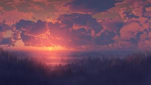Sunrise 360 Speed Panorama by LordDoomhammer