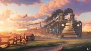 Ironswift Tales City Train