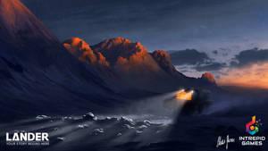 LANDER: Landscape Concept Art 10 by LordDoomhammer