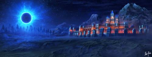 Fortress in Eternal Darkness by LordDoomhammer