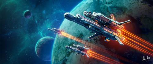 Intercepting Force by LordDoomhammer