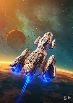 Triton: The Descendants War Book 1