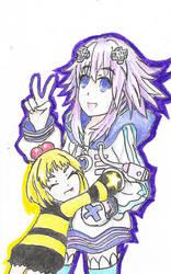 P-Ko and Neptuna by CDQ2691