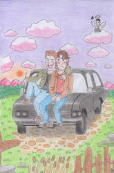 Good time with the Winchesters by Thorinstrawberry