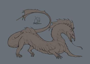Free dragon base by PalDreamer