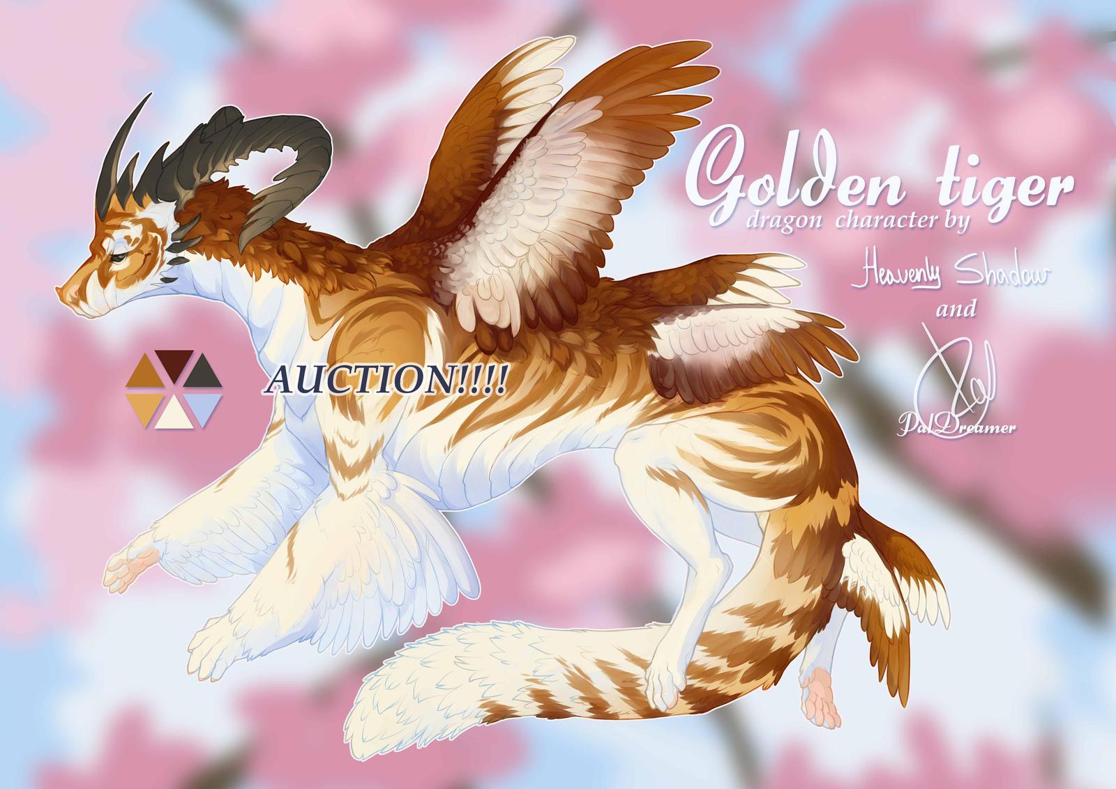 Golden tiger dragon deviantart golden era bodybuilding steroids