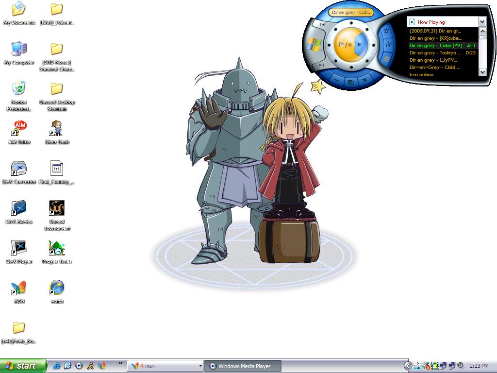 FMA Desktop by YamiRachael