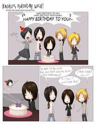 Kaoru's Birthday Wish PART 1