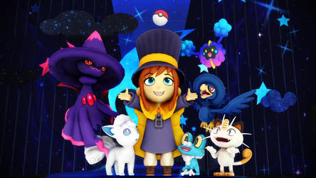 A Hat in Time and Pokemon by EpicMia17