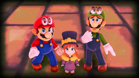Super Mario-A Hat In Time (1) by EpicMia17