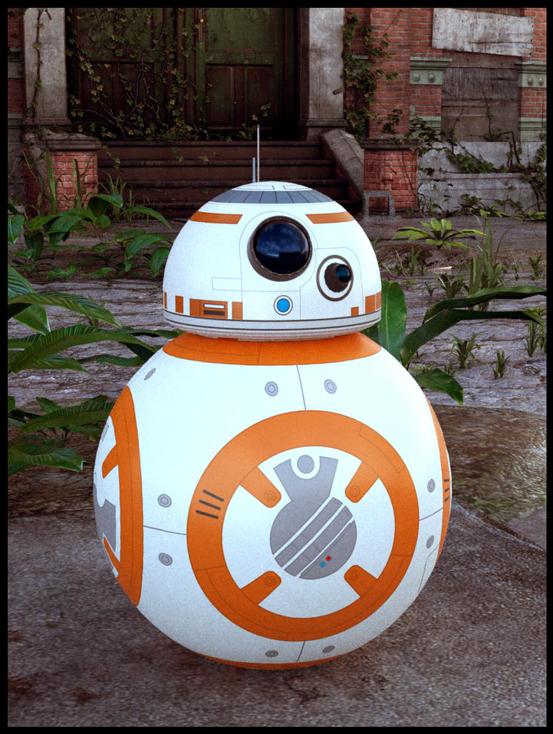 BB-8 droid by StephaneB1
