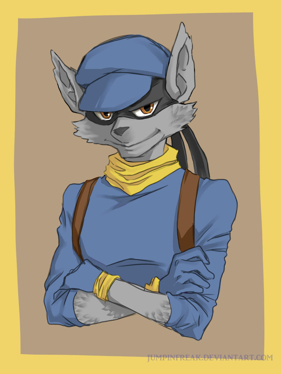 Sly Cooper: Sly by JumpinFREAK