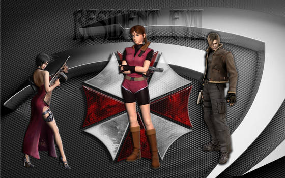 Resident Evil  Ada  Claire and Leon