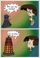 The baby Dalek ? by k9-1