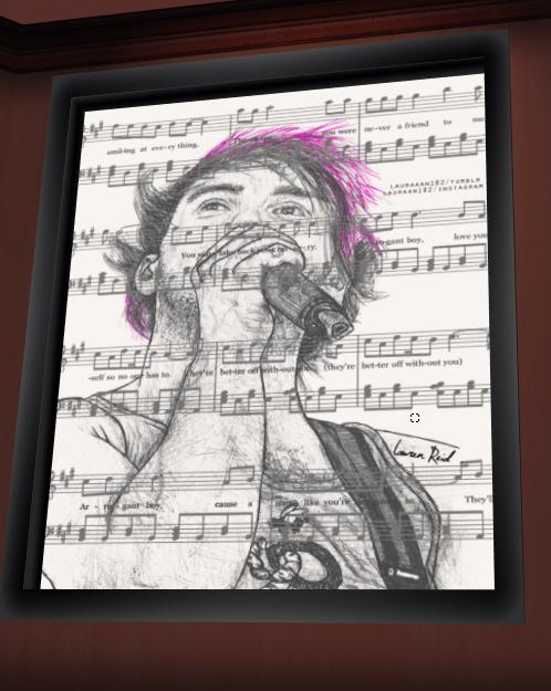 Drawing of mark? by LadySakuraAvalon